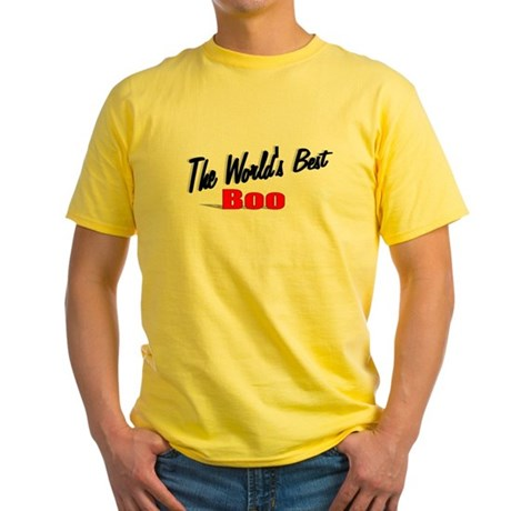 """The World's Best Boo"" Yellow T-Shirt"