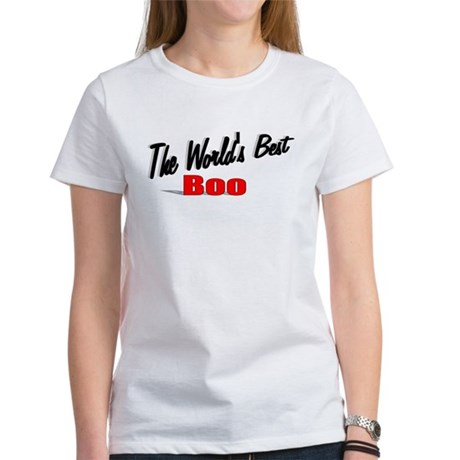 """The World's Best Boo"" Women's T-Shirt"
