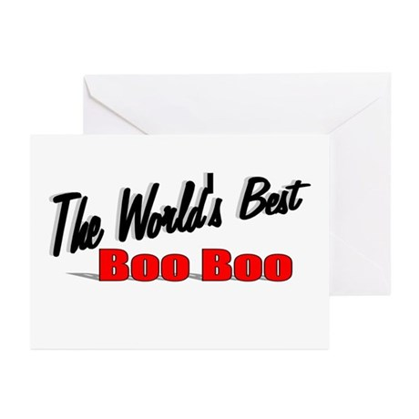"""The World's Best Boo Boo"" Greeting Cards (Pk of 2"