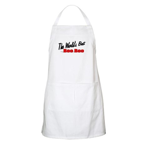 """The World's Best Boo Boo"" BBQ Apron"