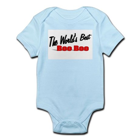 """The World's Best Boo Boo"" Infant Bodysuit"