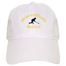 Broomball Rules Baseball Cap