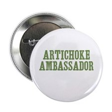 "Artichoke Ambassador 2.25"" Button (100 pack)"