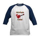 Christmas Rocks! Guitar Santa Tee