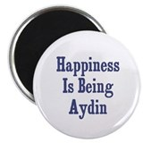 "Happiness is being Aydin 2.25"" Magnet (10 pack)"