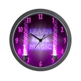 Learn Real Magic Wall Clock