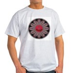 Scorpio-Wheel-round Ash Grey T-Shirt