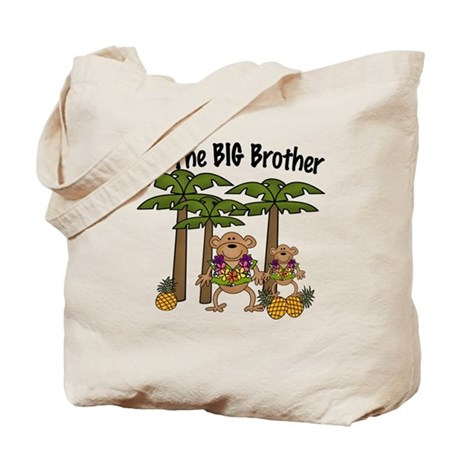 I'm The Big Brother With Little Brother Tote Bag