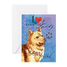 Finnish Spitz Greeting Cards (Pk of 10)