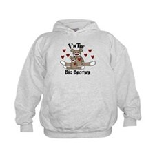 I'm The Big Brother SOCK MONK Hoodie