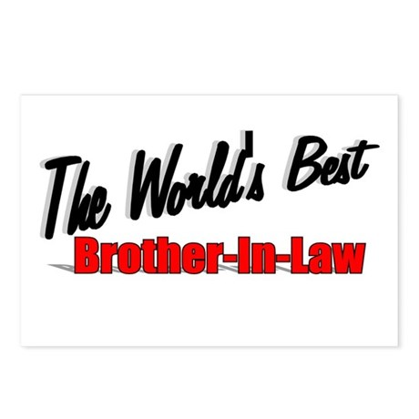 """The World's Best Brother-In-Law"" Postcards (Packa"