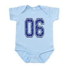 06 Jersey Year Infant Bodysuit