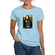 Mona's Black Shar Pei T-Shirt