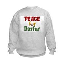 Peace For Darfur 1.1 Sweatshirt