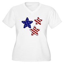 American Flag Stars T-Shirt
