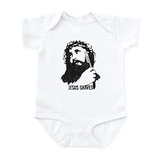 Jesus Shaves Onesie