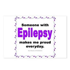 Epilepsy Pride Postcards (Package of 8)