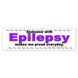 Epilepsy Pride Bumper Bumper Sticker