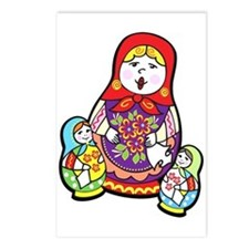 Nesting Dolls Postcards (Package of 8)