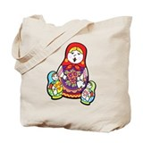 Nesting Dolls Tote Bag