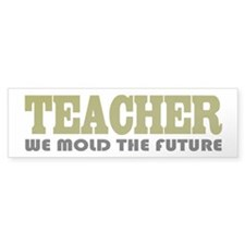 Teacher Slogan Bumper Bumper Sticker