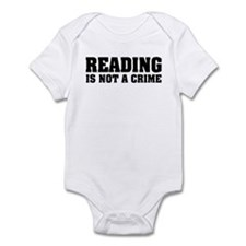 Reading is Not a Crime Infant Bodysuit
