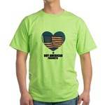 BUY AMERICAN PRODUCTS Green T-Shirt