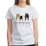 Nothin' Butt Bull Terriers Women's T-Shirt