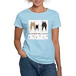 Nothin' Butt Bull Terriers Women's Light T-Shirt