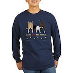 Nothin' Butt Bull Terriers Long Sleeve Dark T-Shir