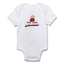 Santa I CAN EXPLAIN Infant Bodysuit