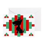 Bull Terrier Christmas Cards (Pk of 20)