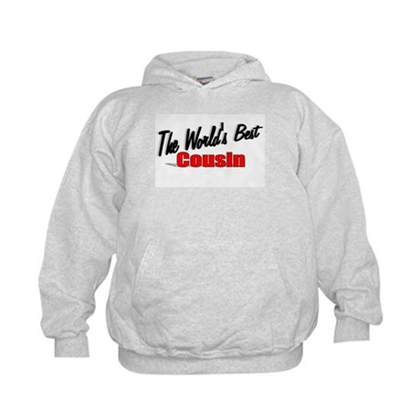 """The World's Best Cousin"" Kids Hoodie"