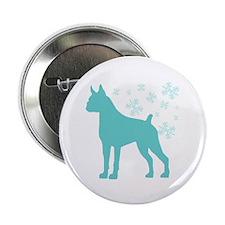 "Boxer Snowflake 2.25"" Button (10 pack)"