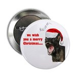 Malinois christmas Button.