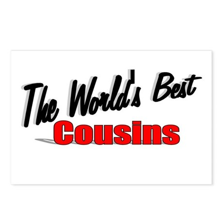 """The World's Best Cousins"" Postcards (Package of 8"