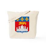 Bordeaux City Tote Bag
