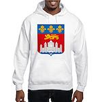 Bordeaux City Hooded Sweatshirt