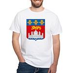 Bordeaux City White T-Shirt