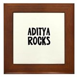 Aditya Rocks Framed Tile