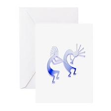Two Kokopelli #39 Greeting Cards (Pk of 20)