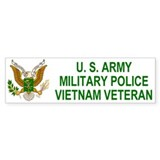 Army MP <BR>Vietnam Bumpersticker