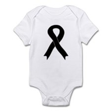 Black Ribbon Infant Bodysuit