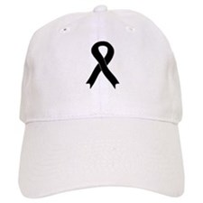 Black Ribbon Baseball Cap