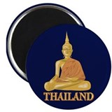 Thailand 2.25&quot; Round Magnet