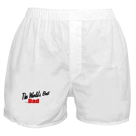 """The World's Best Dad"" Boxer Shorts"