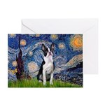 Starry Night Boston (#2) Greeting Card