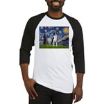 Starry Night Boston (#2) Baseball Jersey