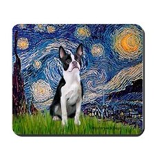 Starry Night Boston (#2) Mousepad