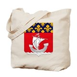 Paris Department Coat of Arms Tote Bag